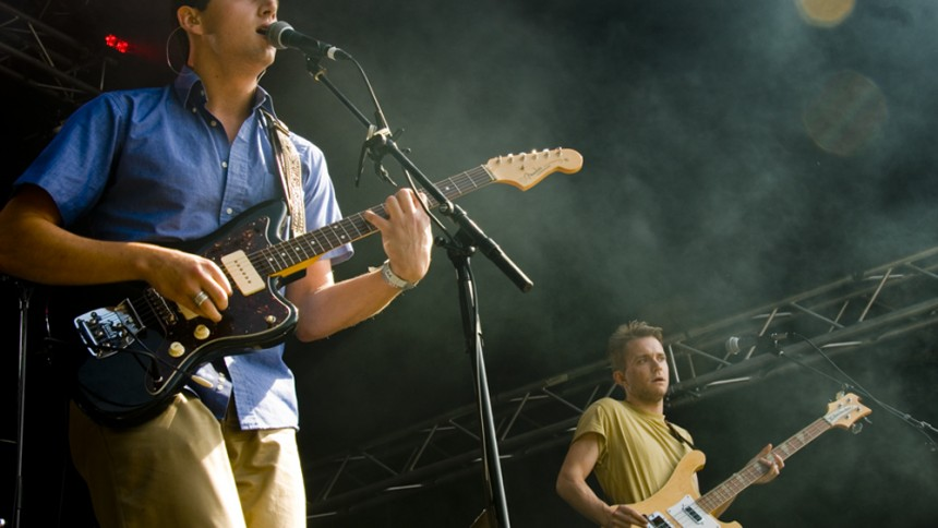 Cymbals Eat Guitars: Vika, Øyafestivalen