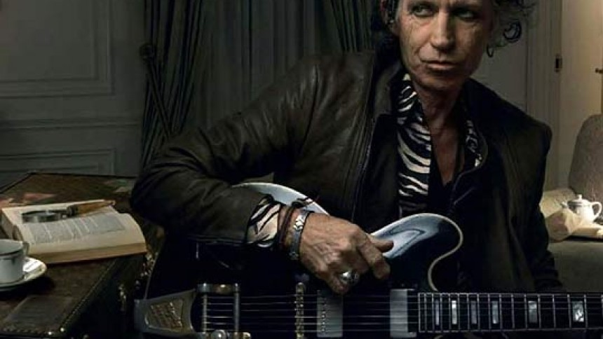 Keith Richards slog svensk journalist