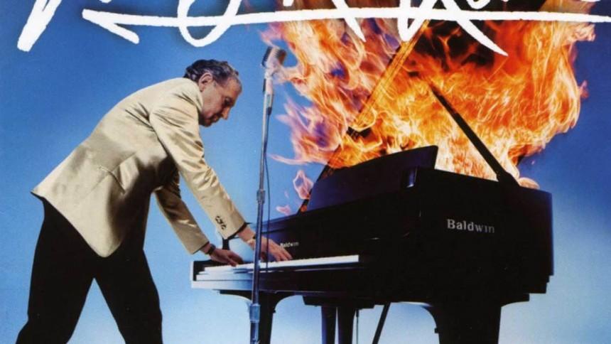 Jerry Lee Lewis spiller i Haderslev