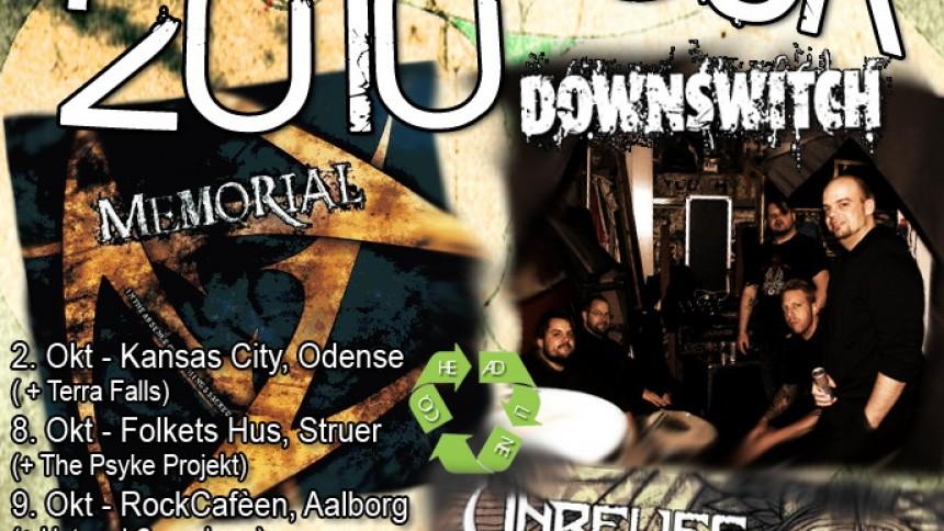 Tre danske metal-bands drager på turné