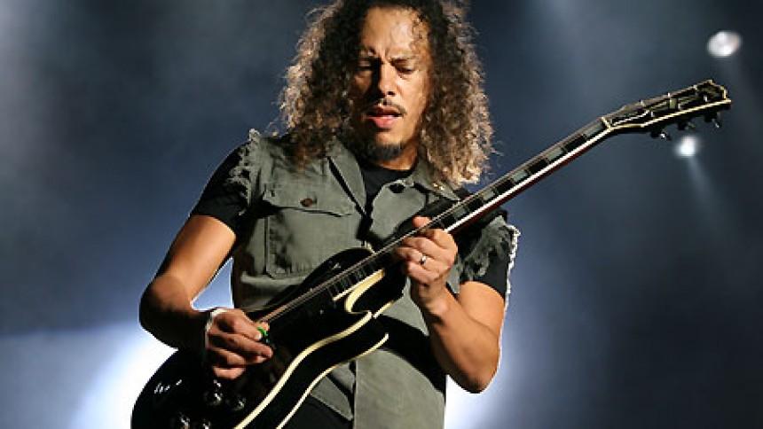 Kirk Hammett vil udgive bog