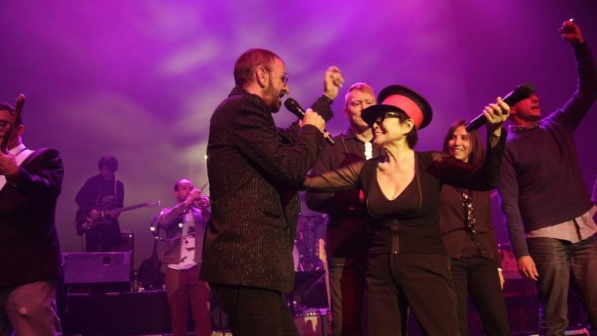 På Island med Yoko Ono