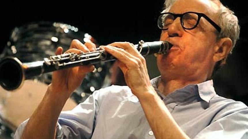Woody Allen giver koncert i Danmark