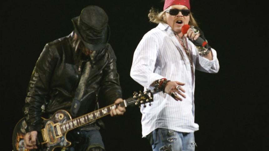 Guns N' Roses arbejder på nyt