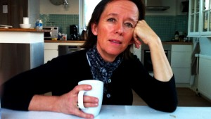 Anne Dorte Michelsen i studiet