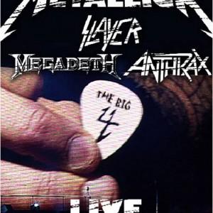 Metallica, Slayer, Megadeth, Anthrax: The Big 4