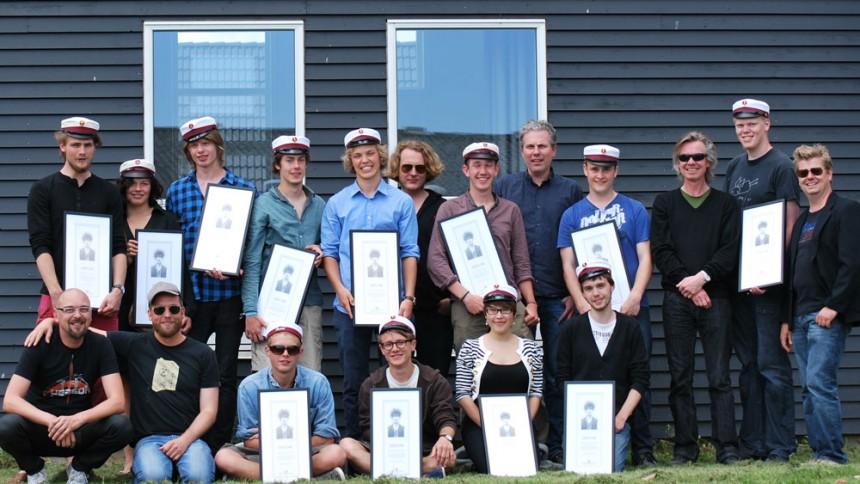 Skolerne i Oure: Rockstjerner som mentorer