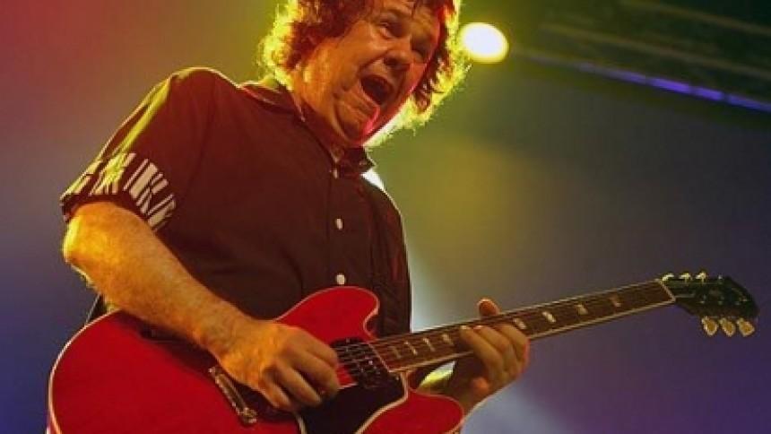 Gary Moore hylder Jimi Hendrix