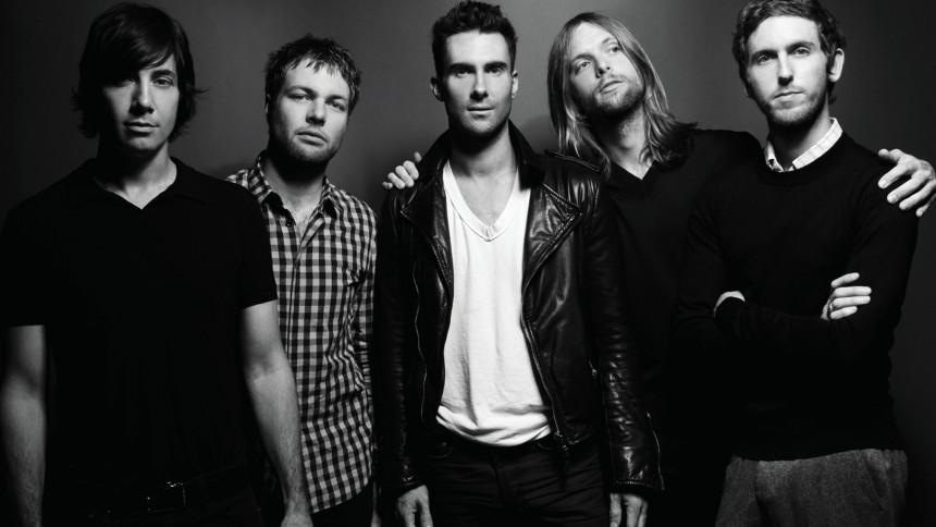 Maroon 5 til Danmark til december