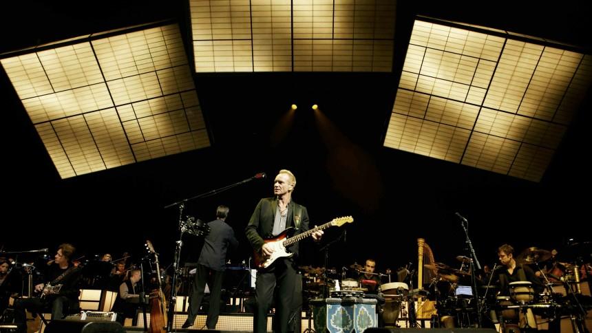 Sting og Aalborg Symfoniorkester: Aalborg Kongres & Kultur Center