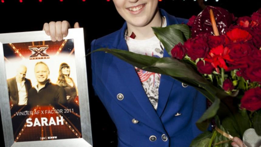 Frk. X Factor er fundet: Sarah