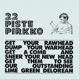 22 Pistepirkko: Lime Green Delorean