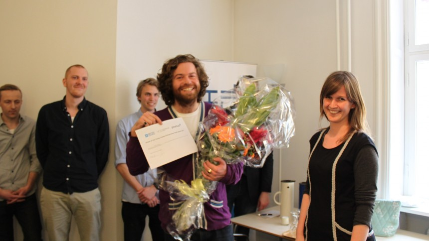Kalle B vandt entreprenørpris