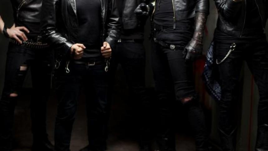 Black Veil Brides spiller i Danmark