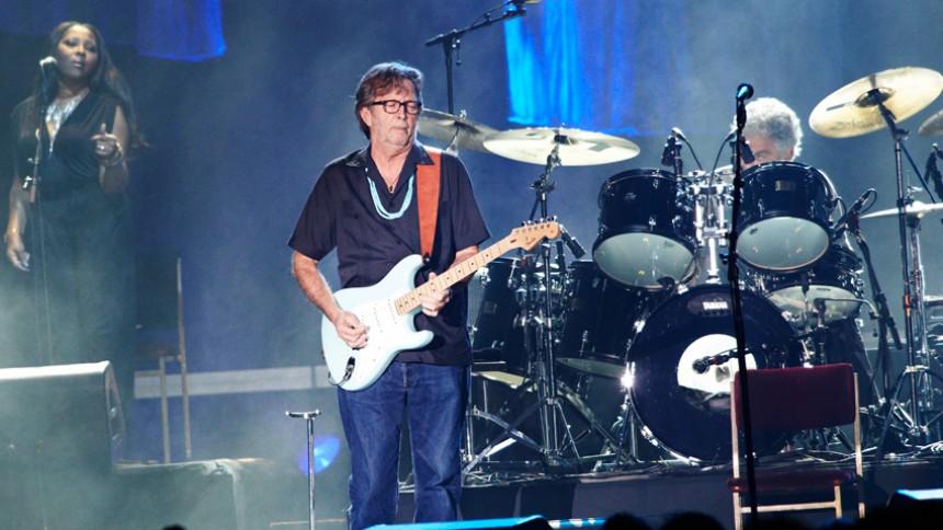 Eric Clapton klar med nyt album til foråret