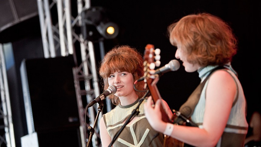 Kirsten & Maries dagbog fra Roskilde Festival 2011