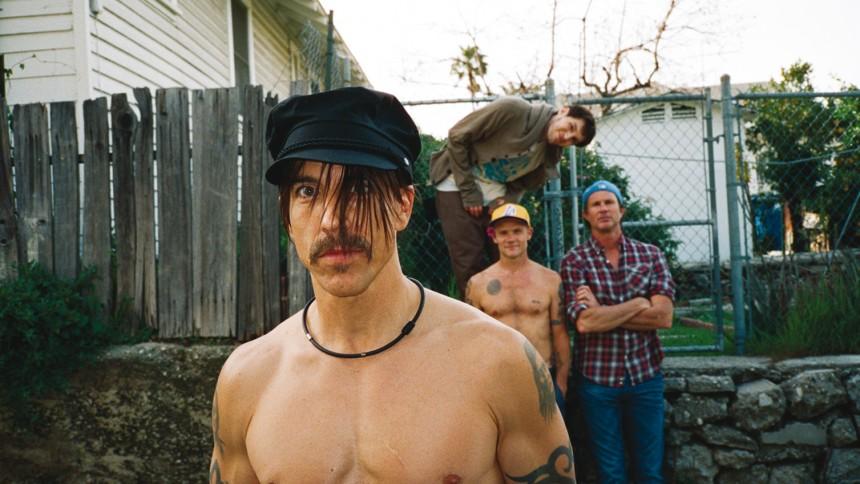 Red Hot Chili Peppers indtager førstepladsen