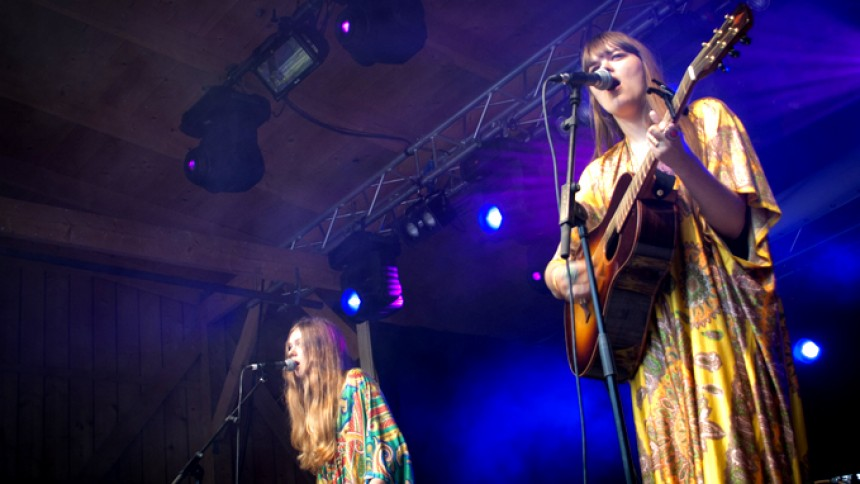 First Aid Kit : Roskilde Festival, Arena