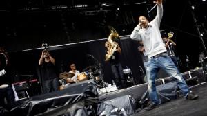 Hypnotic Brass Ensemble NPG Festival, 10-Øren 070811