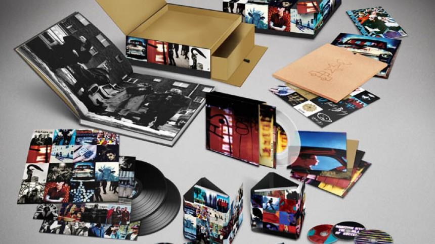 U2 genudgiver Achtung Baby