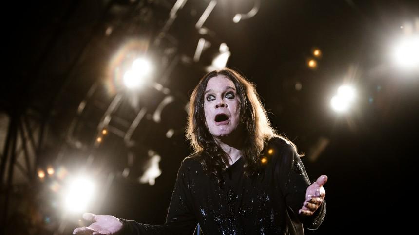 Ozzy Osbourne : Bøgescenerne, Danmarks Smukkeste Festival