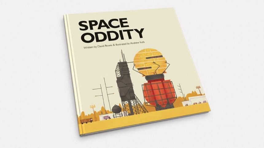 """David Bowies """"Space Oddity"""" er lavet som børnebog"""