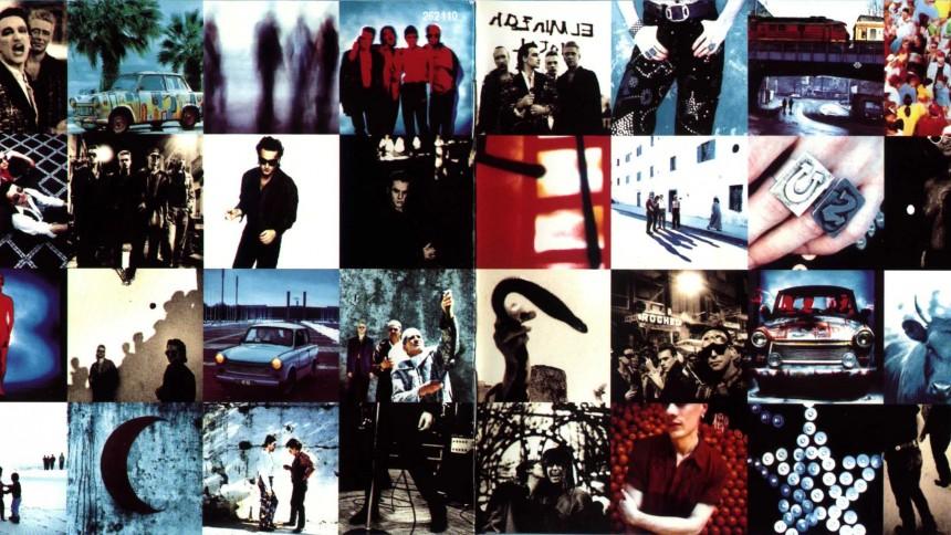 U2's Achtung Baby –lattergas og befriende støj