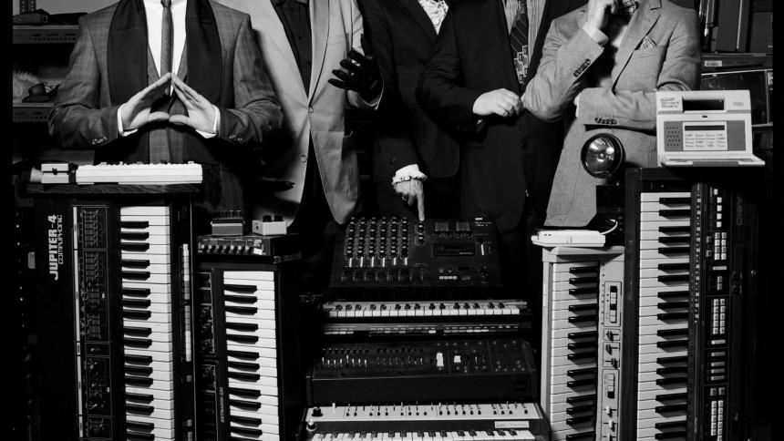 Remix-ep og koncert af Apparat Organ Quartet
