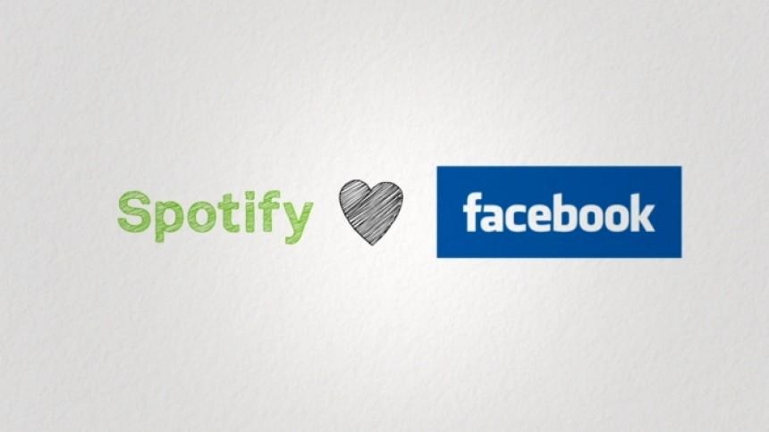 Spotify samarbejder med Facebook