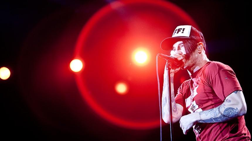 Red Hot Chili Peppers: Jyske Bank Boxen, Herning