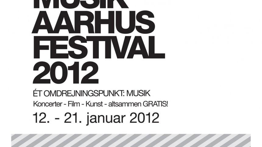 Fire spillesteder forenes til Musik Aarhus Festival