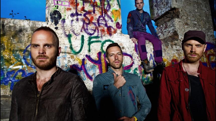 """Lyt til Coldplays nye sang """"Up In Flames"""""""