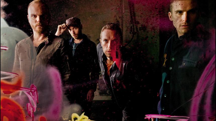 "Lyt til Coldplays nye sang ""Up With The Birds"""