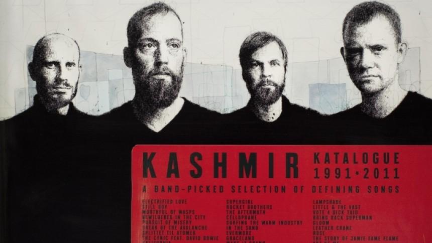 Kashmir offentliggør trackliste til Katalogue