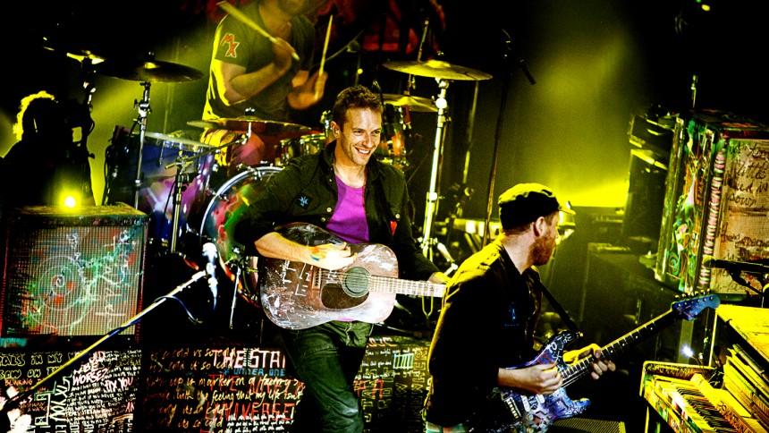Coldplay: Sentrum Scene, Oslo