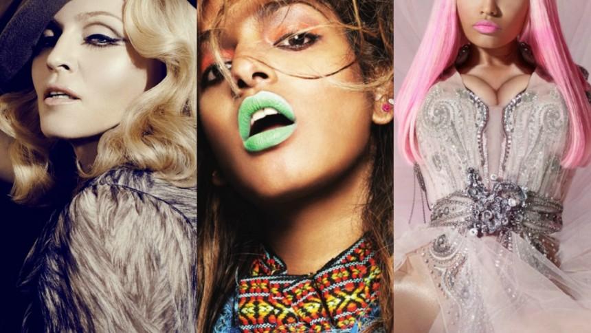 M.I.A. og Nicki Minaj gæster Madonna-single