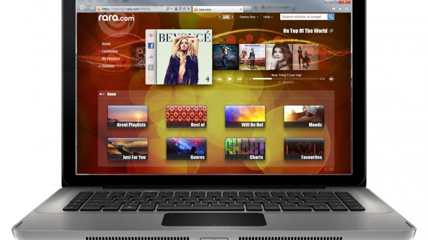 Ny online-musiktjeneste lanceret i dag