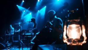 Pil & Liv, Mixtune For Cully og Deer Bear Musik Aarhus Festival, Train, Aarhus, 20-01-2012