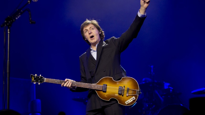 Paul McCartney: O2 Arena, London