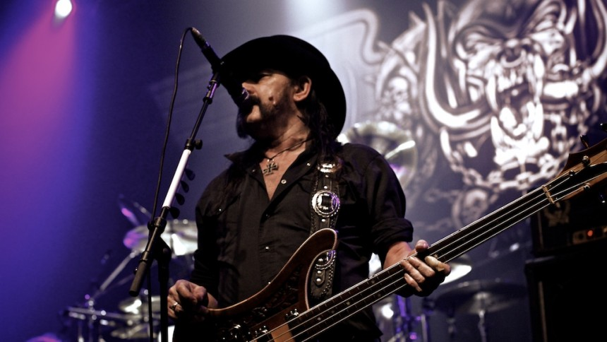 GULD FRA GEMMERNE: Da GAFFA talte med Lemmy fra Motörhead