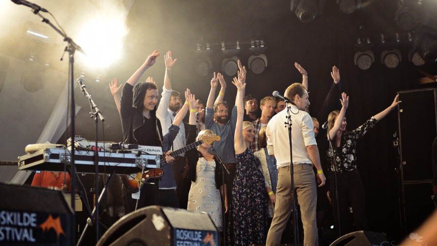 Copenhagen Collaboration : Roskilde Festival, Arena