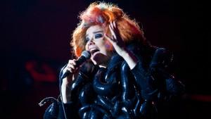Björk Roskilde Festival 080712