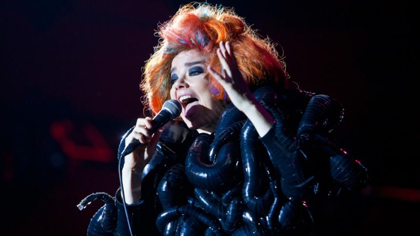 Björk : Roskilde Festival, Orange Scene