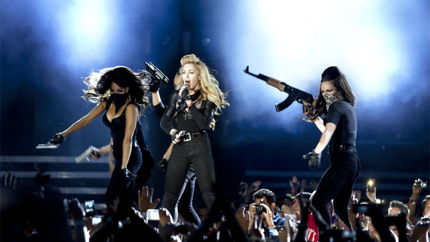 "Madonnas ""MDNA World Tour"" udkommer på dvd"