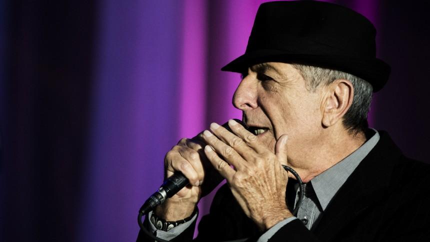 Portræt af Leonard Cohen – tusind kys dyb