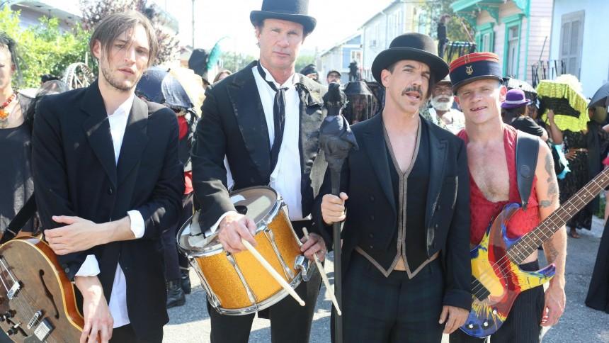 Red Hot Chili Peppers i slutfasen med nyt album