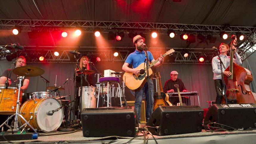 Mikael K og Klondyke: Tønder Festival 2012, Telt 2