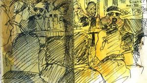 Sex Pistols-reception 100 Club London 180912