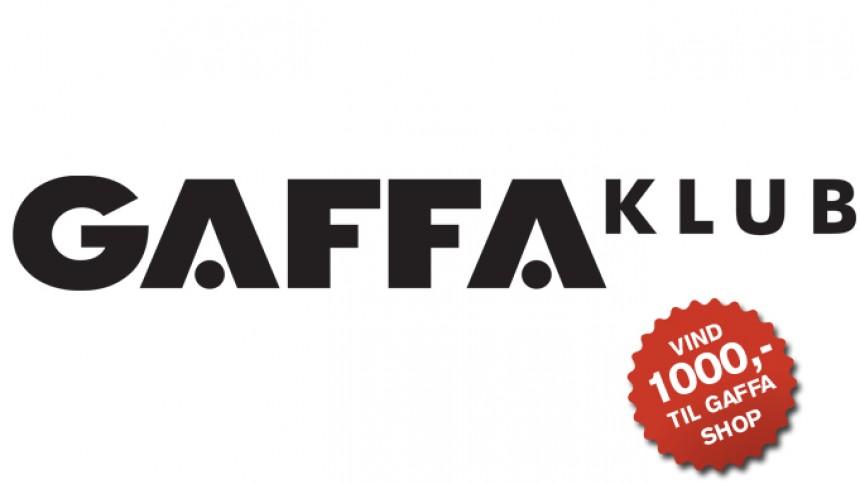 Hjælp GAFFA Klub – og vind gavekort til GAFFA Shop