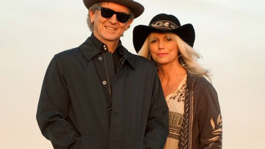 Emmylou Harris og Rodney Crowell til Danmark
